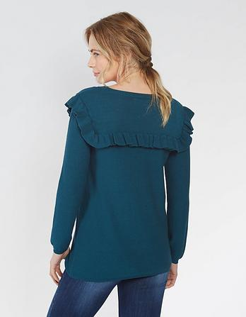 Gilly Ruffle Jumper