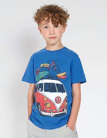 Vw Holiday Camper T Shirt