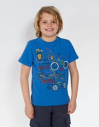 Keep it Wheel Graphic T-Shirt