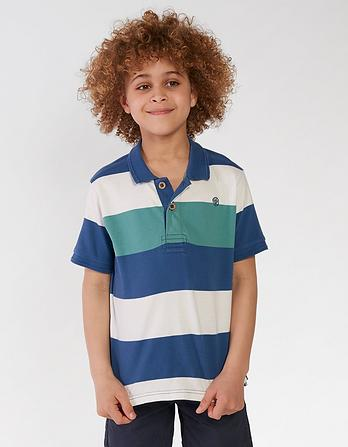 Highlight Stripe Polo