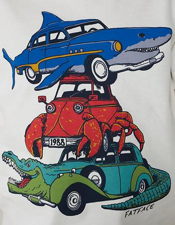 Creature Cars Graphic T Shirt
