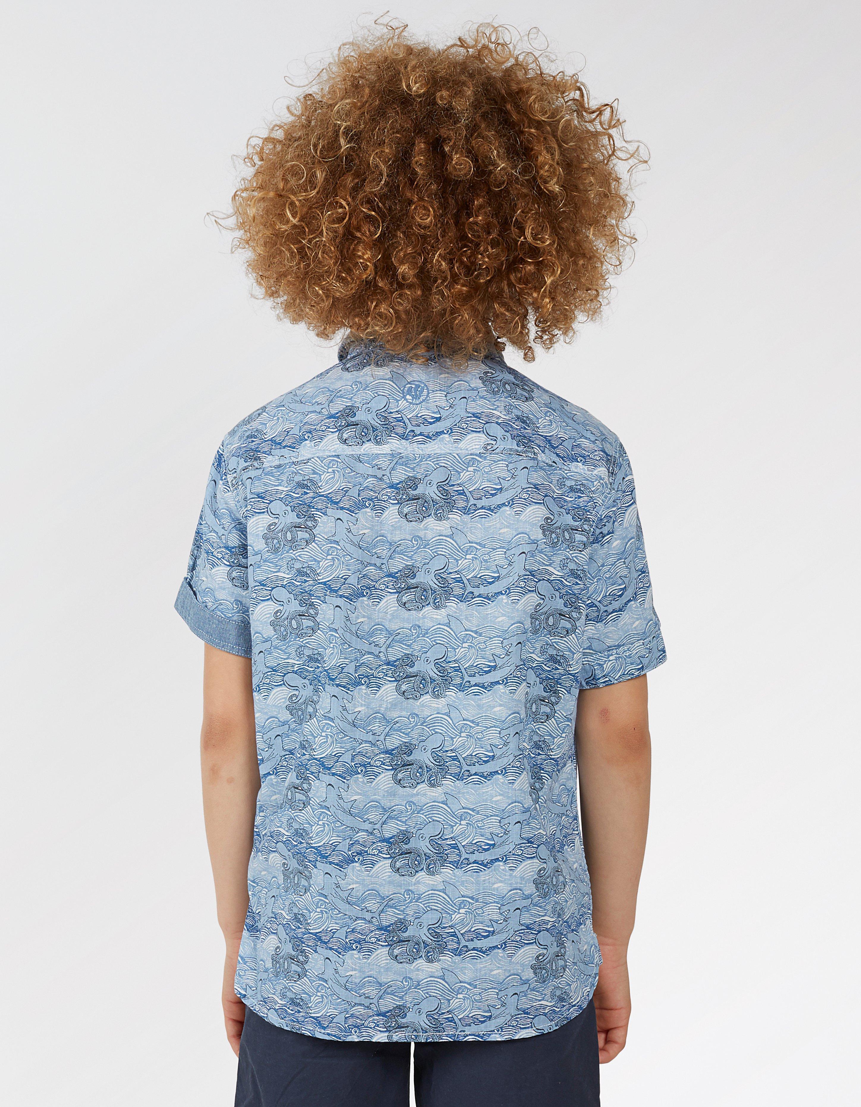 Stormy Seas Print Shirt