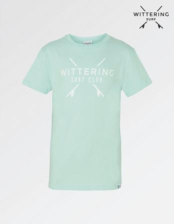 Wittering Surf Club Kids' Logo T-Shirt