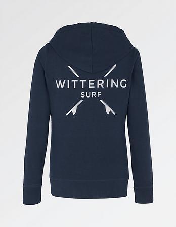 Wittering Surf Women's Dory Zip Thru Hoody