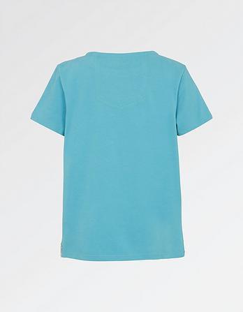 Vw Floral Fish Camper T Shirt