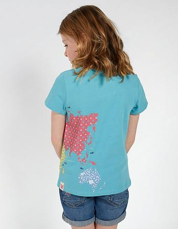 Map Graphic T-Shirt