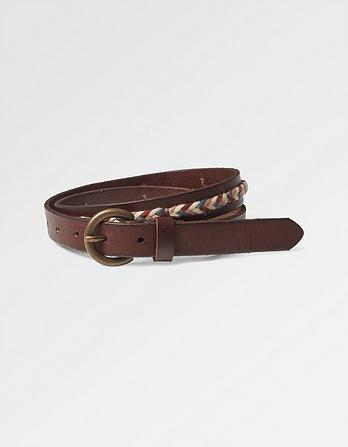 Elle Multi Plait Leather Belt