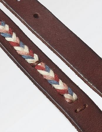 Elle Multi Plait Leather Belt