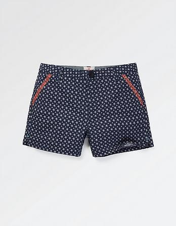 Alice Star Print Chino Shorts