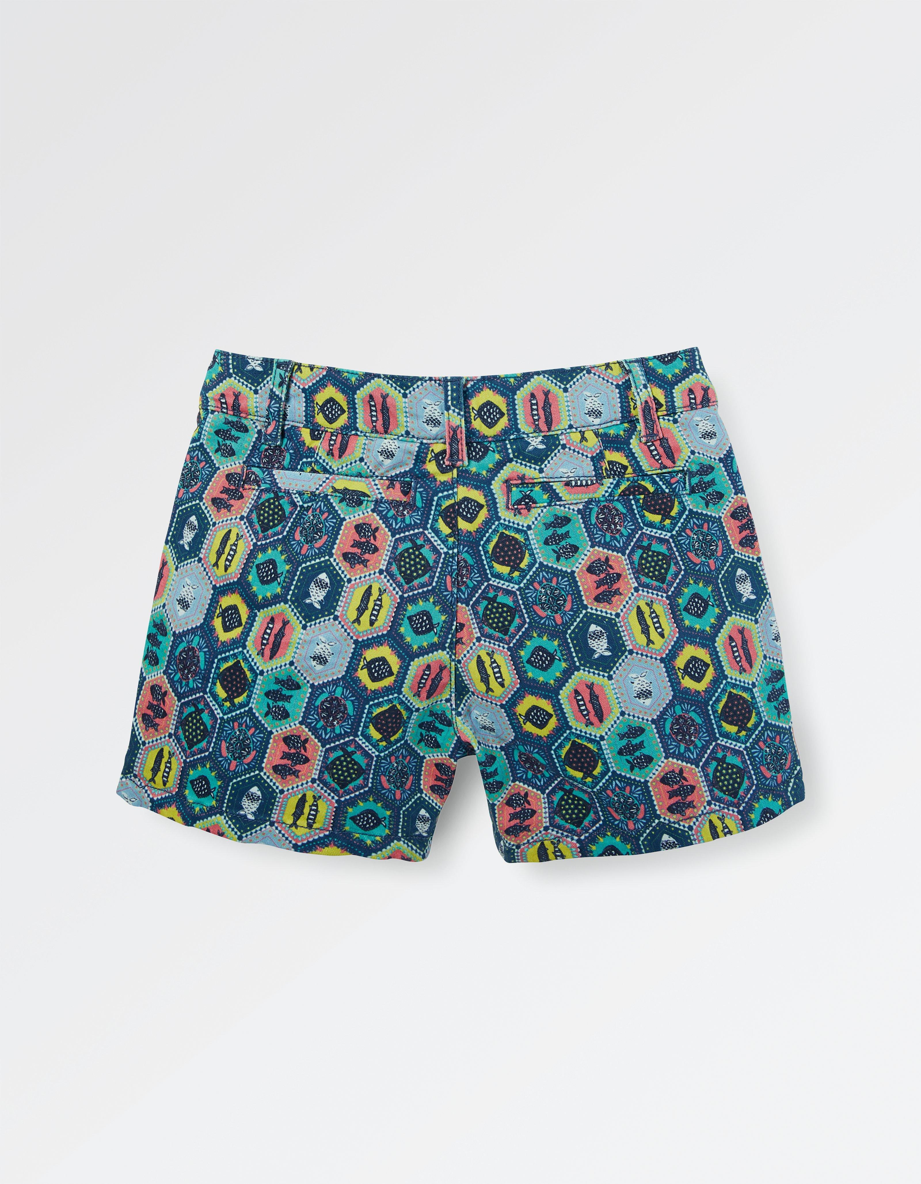 Alice Tile Print Chino Shorts