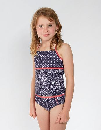 Floral Fish Tankini Set