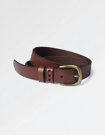 Heart Keeper Leather Belt