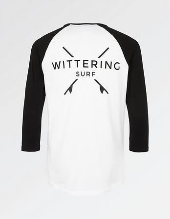Wittering Surf Men's 3/4 Sleeve T-Shirt