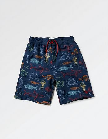 Deep Sea Board Shorts