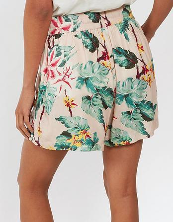 Tropical Floral Flippy Shorts