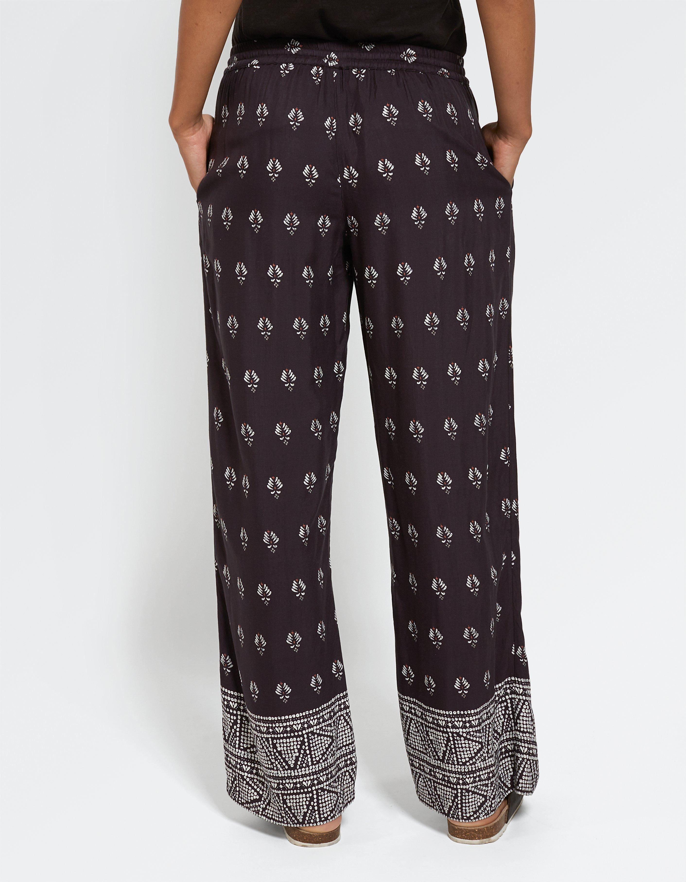 Gem Geo Wide Leg Trousers