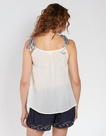 Tynemouth Embroidered Cami