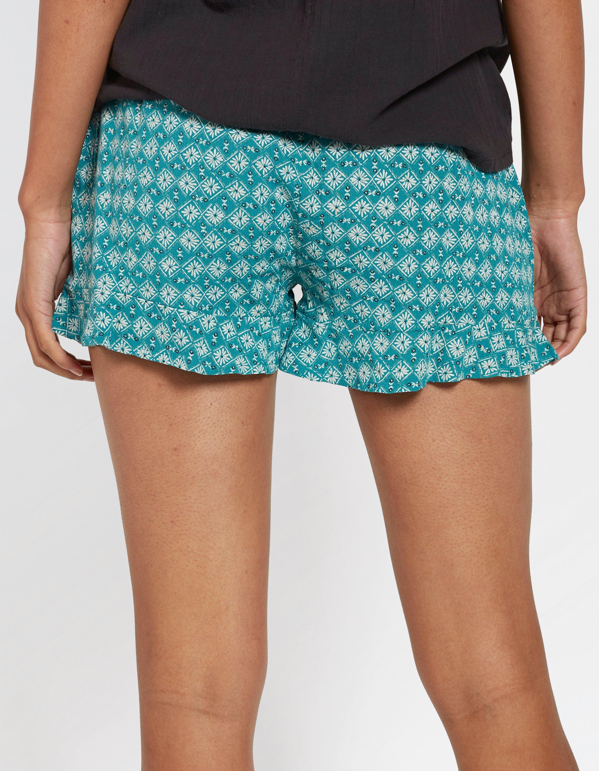 Hayle Daisy Ruffle Shorts