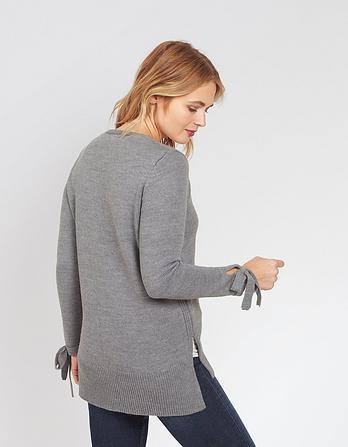 Willow Tie Sleeve Jumper