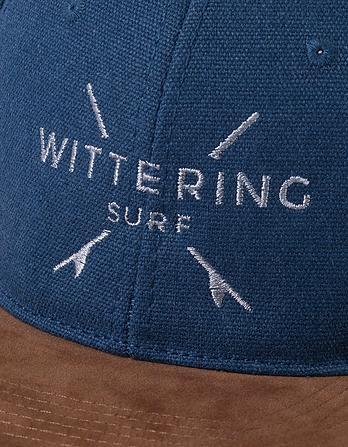Wittering Surf Suede Peak Snapback