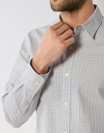 Bray Tile Print Shirt