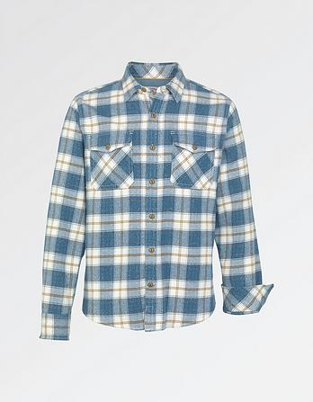 Watergate Brushed Check Shirt