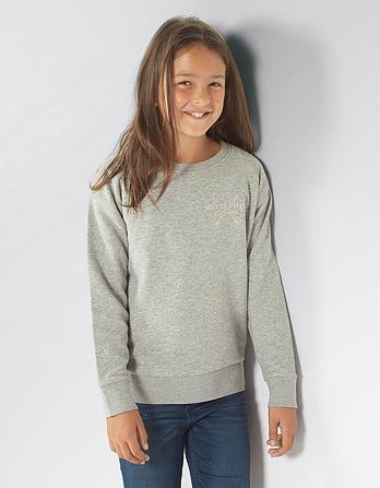 Wittering Surf Mini Snapper Sweatshirt