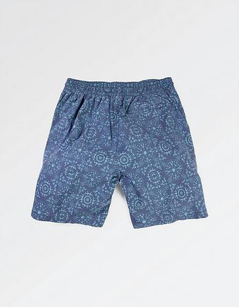 Camber Tile Print Swim Shorts