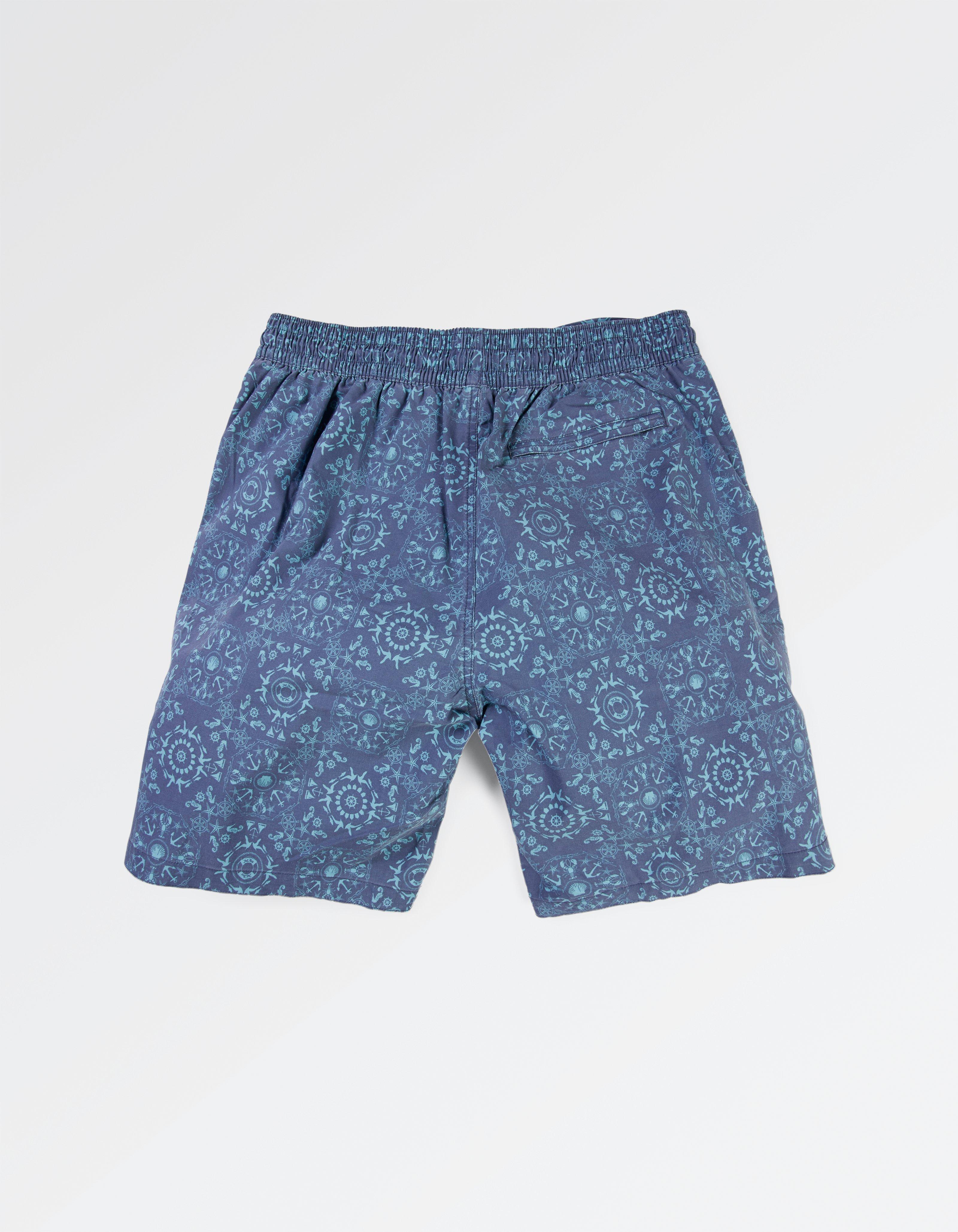 Camber Tile Print Swim Shorts