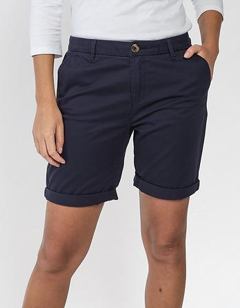 Organic Cotton Falmouth Bermuda Chino Shorts