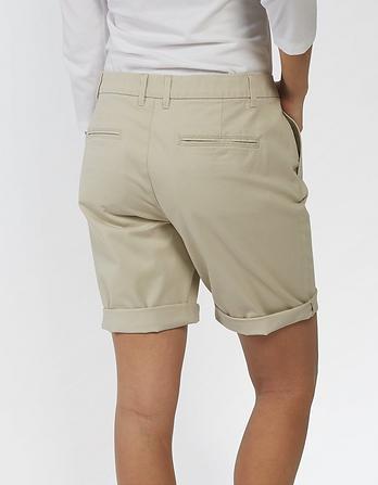 Organic Cotton Falmouth Bermuda Chino Shorts