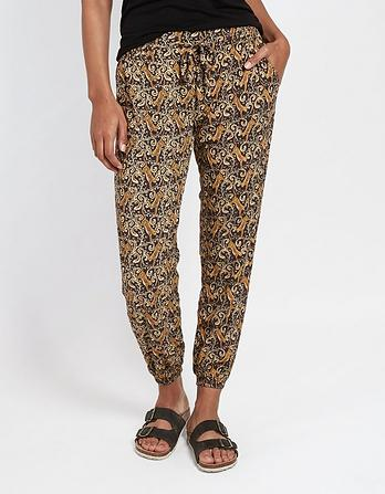 Tiger Vine Cuffed Pants