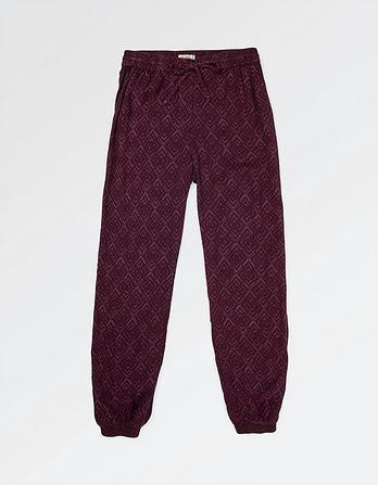 Diamond Stitch Cuff Trouser