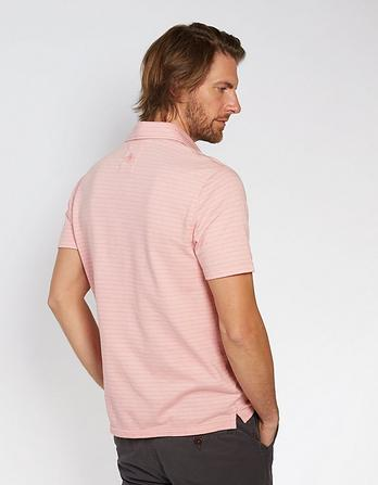 Fulham Organic Cotton Jacquard Polo