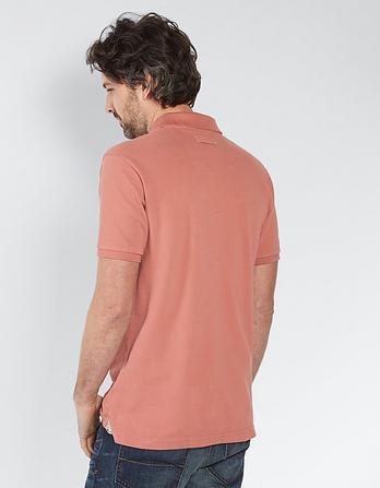 Linton Organic Cotton Pique Polo