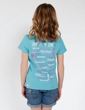 Seahorse Graphic T Shirt