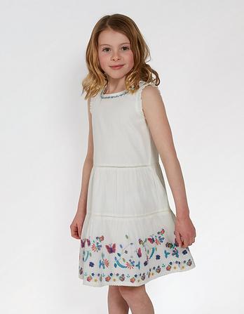 Bella Embroidered Dress