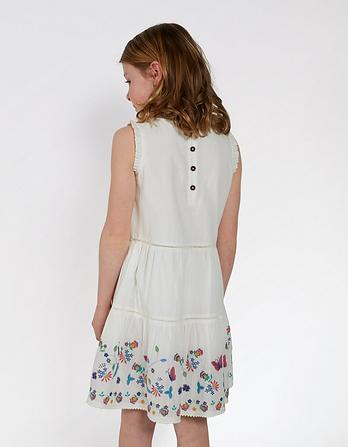 Bella Embroidered Dress