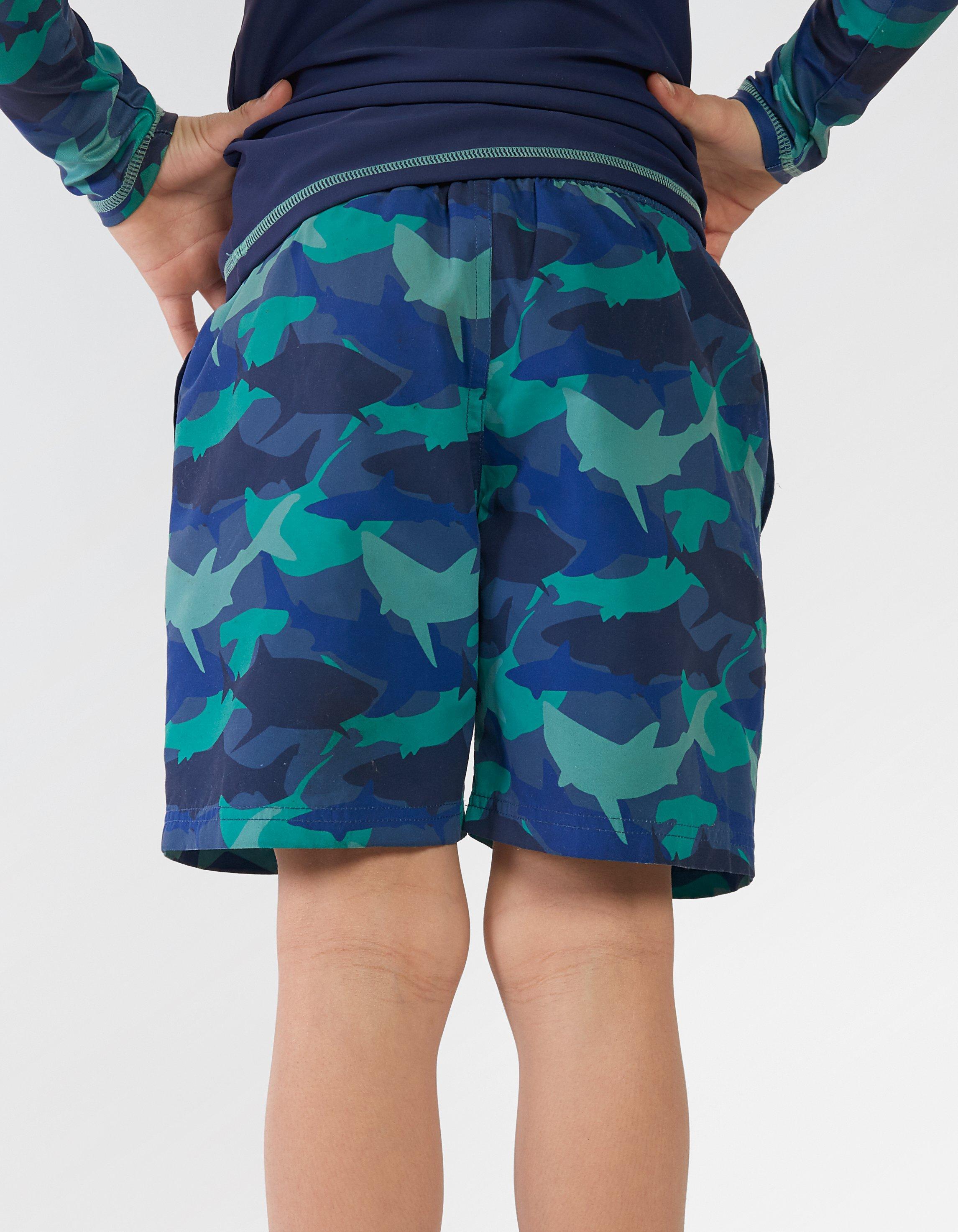 Shark Camouflage Board Shorts