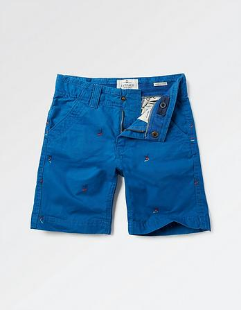 Ellis Surf Embroidered Shorts