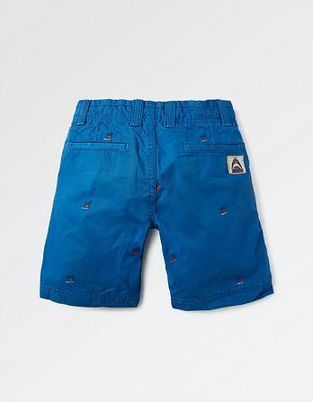 Ellis Surf Embroidered Shorts