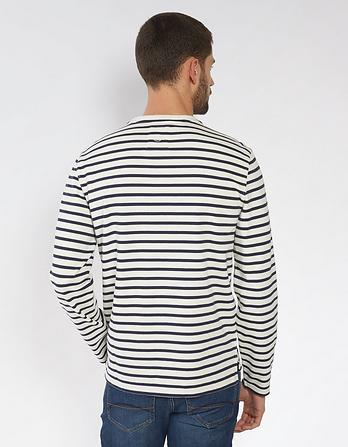 Warwick Organic Cotton Stripe T-Shirt