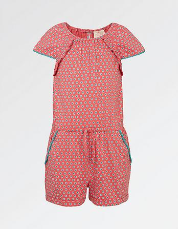 Beth Circle Ditsy Playsuit