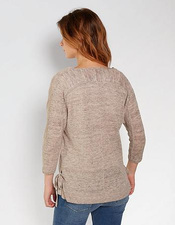 Lily Linen Sweater
