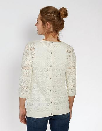 Primrose Pointelle Sweater