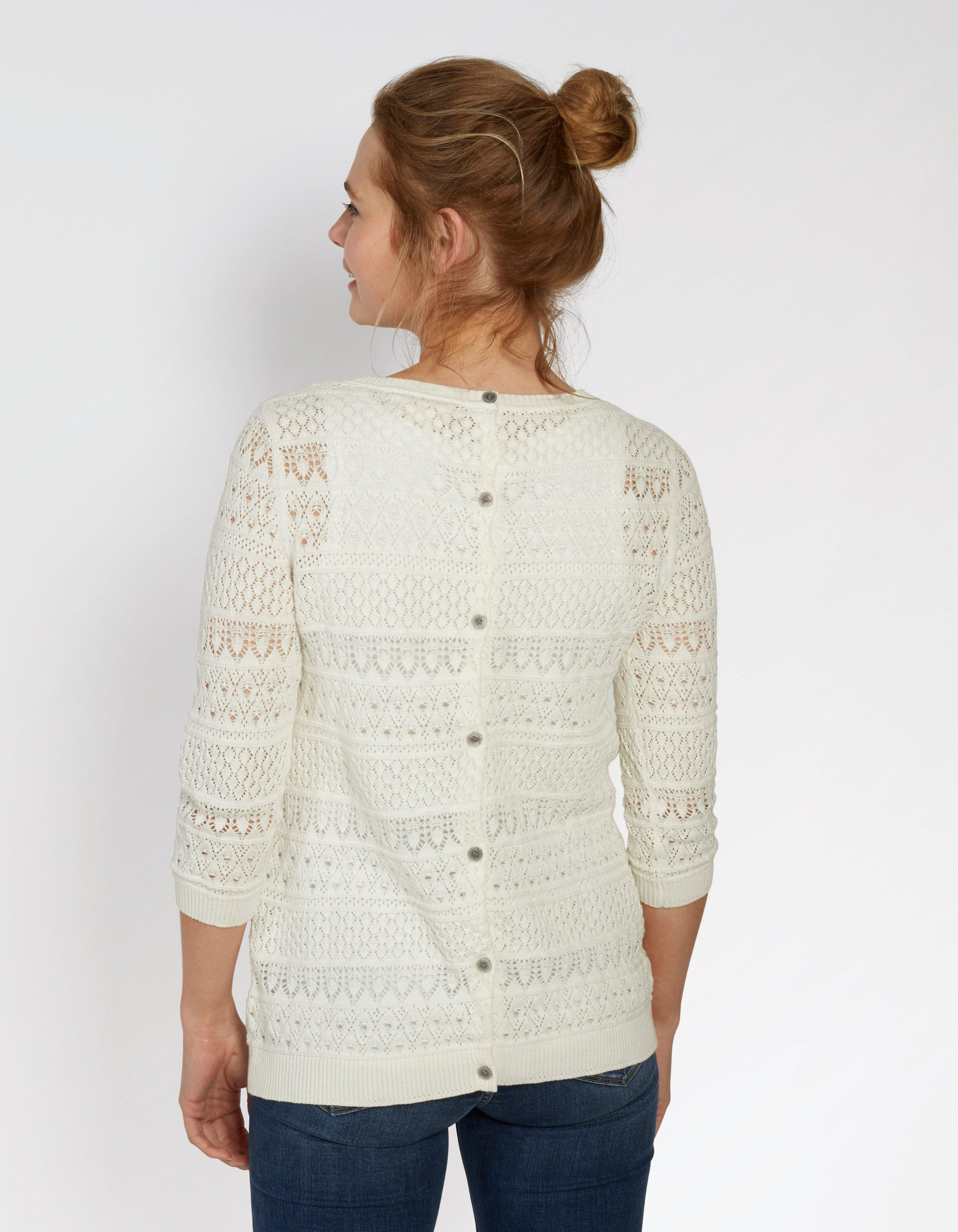 Primrose Pointelle Jumper