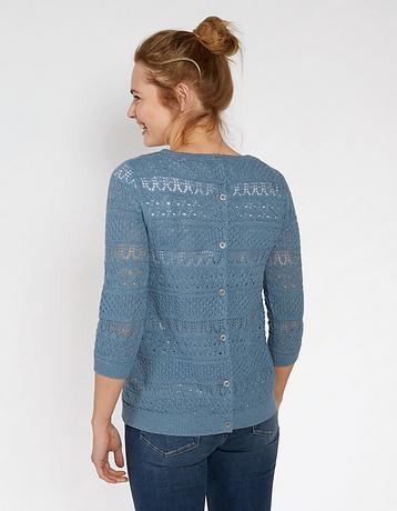 Primrose Pointelle Sweater