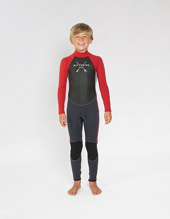 Wittering Surf Kids Summer Full Wetsuit