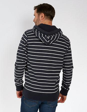 Pembroke Stripe Zip Thru Hoody