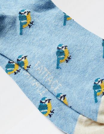 One Pack Bird Socks